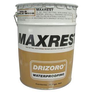25kg Drum Drizoro Maxrest to Restore Concrete & Masonry