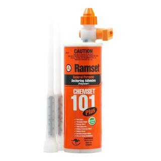 380ml Ramset Chemset 101 includes 2 Nozzles