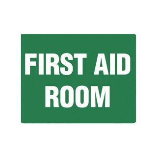 First Aid Room 600mm x 450mm Poly Sign