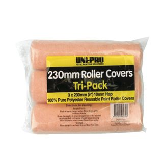 3 Pack 230mm Roller Cover