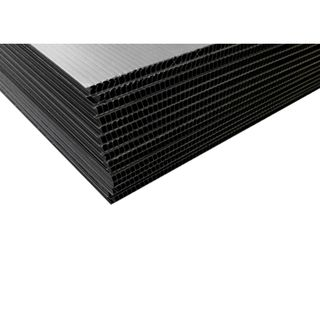 2.5mm Corflute Protection Sheet 350gsm 1800 x 1200mm - BLACK