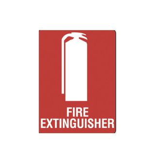 Fire Extinguisher 450 x 300mm Poly Sign