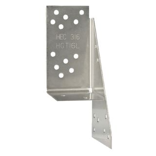 Left Hand Triple Grip Stainless Steel Connector