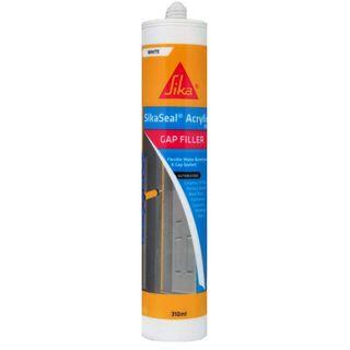 Sikaseal Acrylic 100 310ml Gap Filler White