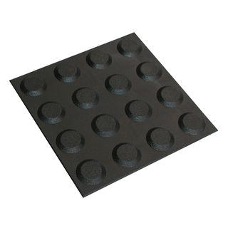 300 x 300mm Black Tactile