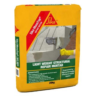 Sika Monotop FC Fairing Coat For Patching Off Form Concrete  0 -3mm Suitable For Patching Precast Concrete & Repairs 15kg Bag