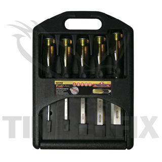5-piece Ox Pro Chisel Set 16mm - 38mm