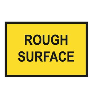 1500 x 750mm Rough Surface Metal Sign