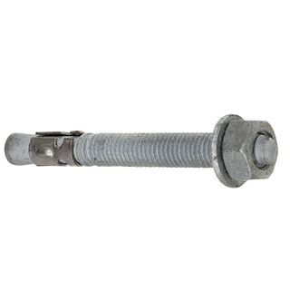 M8 x 120mm Galvanised Trubolt