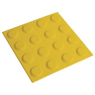 300 x 300mm Yellow Tactile
