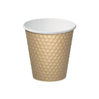 Drinking Cups Paper/Cardboard  SLEEVE OF 50 Cups  (20 Sleeves Per Box)