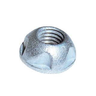 6mm Kinmar Galv Nuts