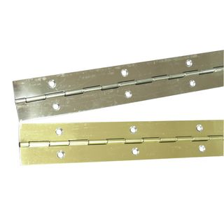 900mm Electro-Brass Piano Hinge includes screw