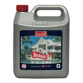 1Ltr Bondall Silasec, Forms Permanent Waterproofing Barrier