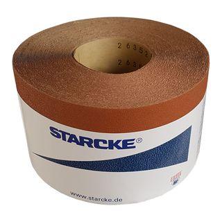 120 Grit 115mm Sandpaper x  50 mtr per Roll  / Priced per Metre