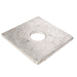 M12 38 x 38 x 3mm Galvanised Square Washer