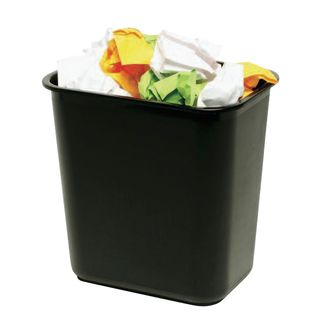 15L Black Esselite Office Bin