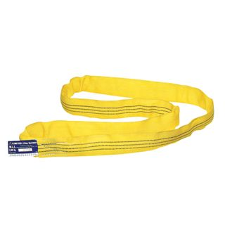 3000kg x 5mtr Round Sling Yellow