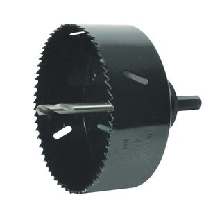 114mm HSS Bi-Metal Holesaw Suits Arbor A3