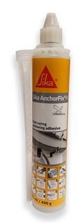 300ml Handy Size Fast Curing Sika Anchorfix-1 includes 1 Nozzle