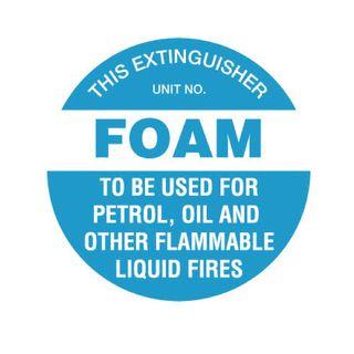 Foam EXT Sticker 200mm