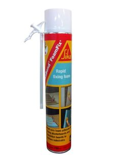 Sika Foamfix Low Foaming Polyurethane Fixing Foam Adhesive - 750ml Can
