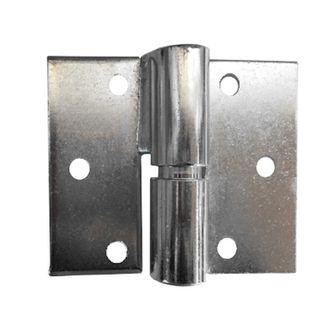 Left Hand Gate Hinge Ball Bearing Zinc per pair