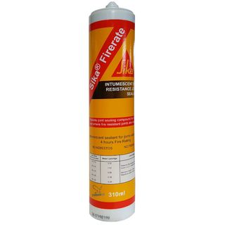 Sika Firerate Fire Resistant Joint Sealant Grey 300ml