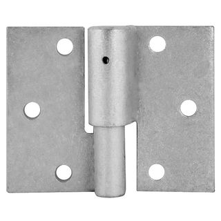 Left Hand Gate Hinge Ball Bearing Galvanised per pair