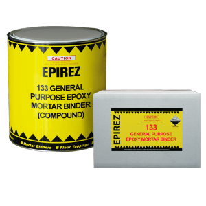 4Ltr Epirez General Purpose Epoxy Mortar Binder 133 Part A & B