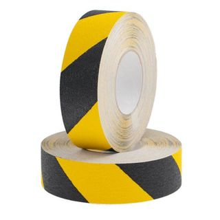 48mm x 18m Non Slip Tape Black & Yellow