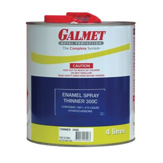 4Ltr Galmet Enamel Spraying Thinner 300C