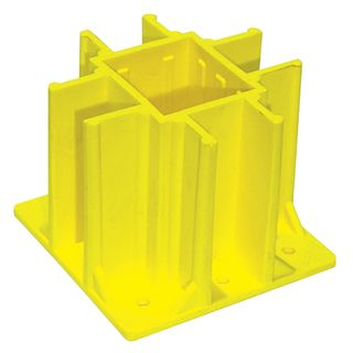 YELLOW - Safety Boot for Temp Handrails