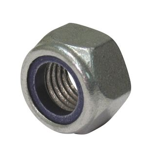 M24 Galvanised Nyloc Lock Nut