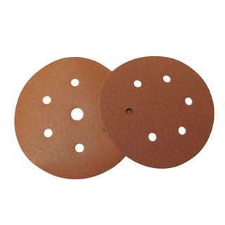 80 Grit 150mm Dia Velcro Sand Disc