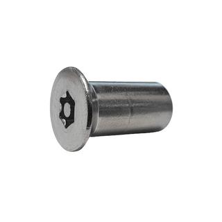 M5 CSK Head Resytork Nuts S/S