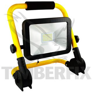Floodlight  Rechargable 20W LED (With Power Supply)
