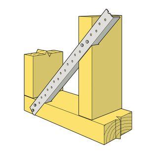Wall Brace 4.2mtr Lengths 18 x 16 x 1.2mm
