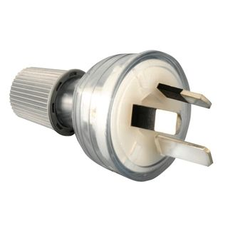 Male Plug End 10amp  CLEAR