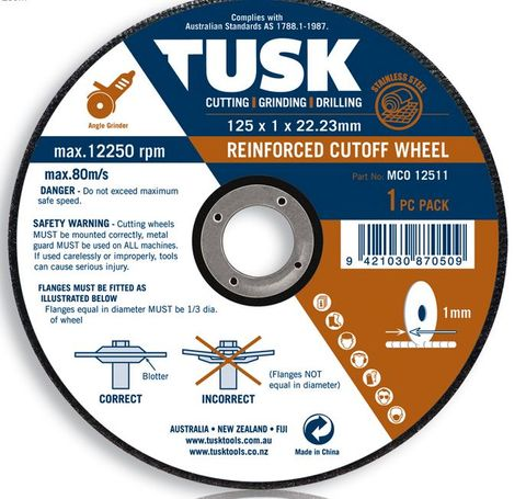 Tusk Thin Metal Cut Off Disc