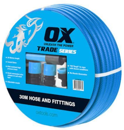 OX TRADE HOSE 30M FITTED