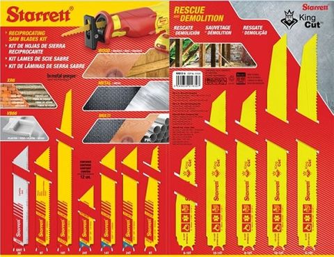 STARRETT SAW BLADE KIT