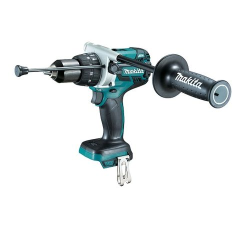 MAKITA 18V C/L B/L HAMMER DRILL DRIVER 13MM,SKIN, TOOL ONLY