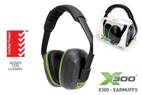 ESKO X300 EARMUFF, 28DP CLASS 5