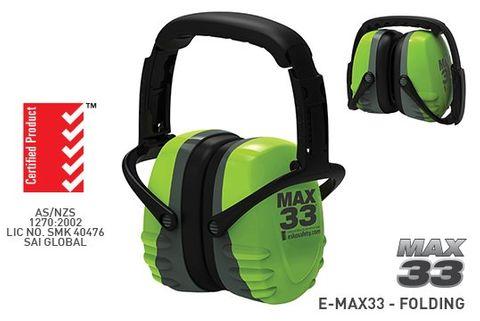 ESKO MAX33 FOLDING EARMUFF CLASS 5