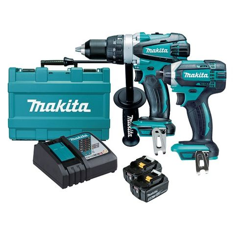 MAKITA 18V LXT KIT DHP458 DTD152 5AH