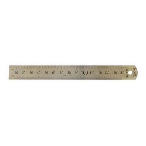 "BLU-MOL - VERTEX 6""/150MM STAINLESS STEEL RULE"