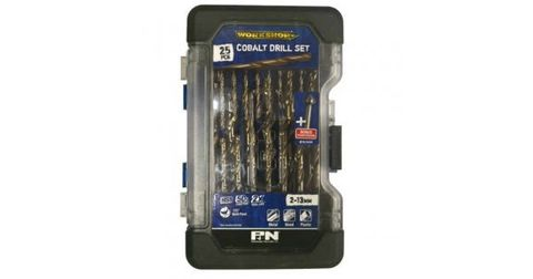 M35 25PCE DRILL SET 2.0-13mm COBALT