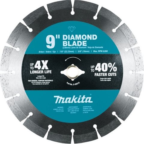 MAKITA DIAMOND BLADE 230mm  SEGMENTED