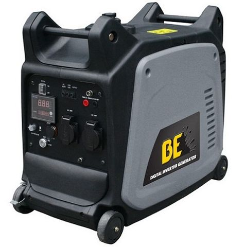 BE 2600W ULTRA QUIET INVERTER GENERATOR ELECTRIC START
